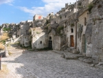 The old city Sassi in Matera, Basilicata