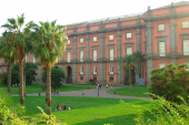 Capodimonte Palace in Naples, Campania, Italy