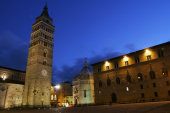 Pistoia at night, Tuscany, Italy