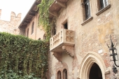 In Fair Verona - Juliet's house and balcony, Verona, Veneto, Italy